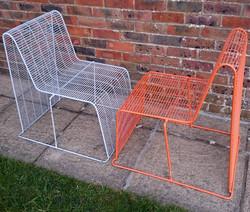 Shin & Tomoko Azumi Wire Frame Chair