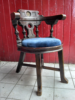 Guion Line Steamship Chairs