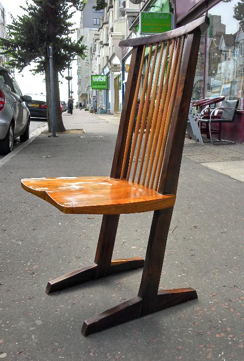 Nakashima Conoid Chairs x4