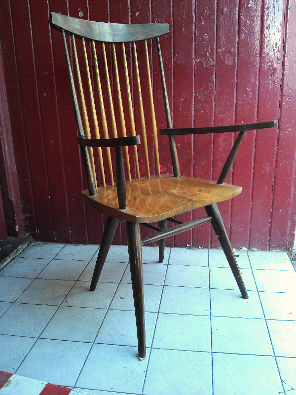Nakashima Elbow Chairs