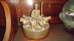Bronze Shepherd and Sheep
