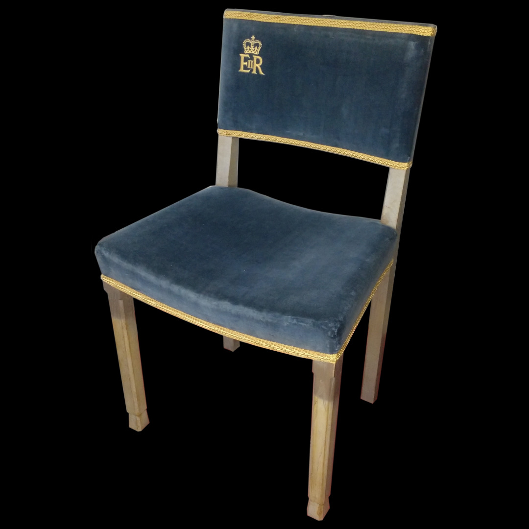 QEII Coronation chair