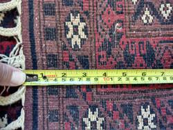 Afghan Rug, reverse