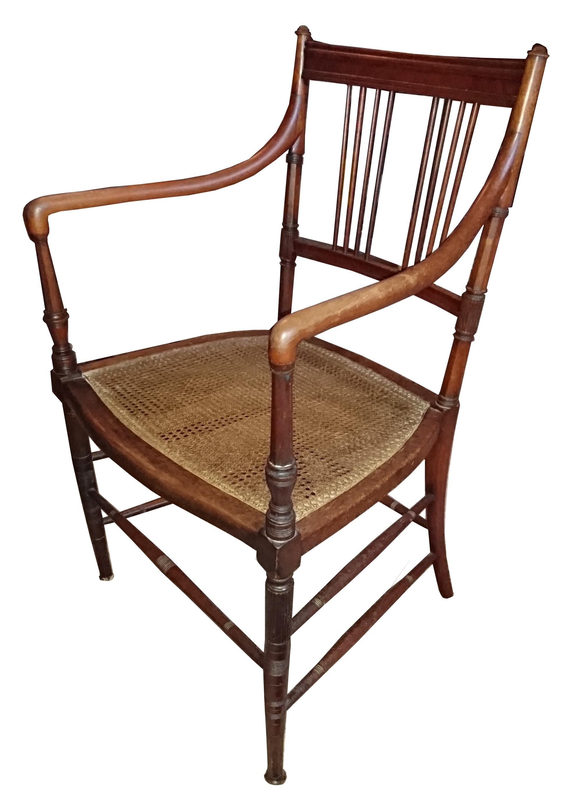 Aesthetic armchair