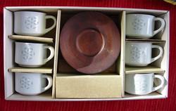 Japanese Rice Grain Tea Set with Woo