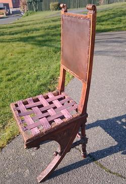 19th Century Italian Bugatti Chair