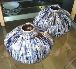 ELGE Art Deco Vases France