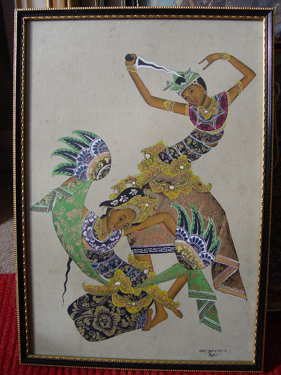 Balinese Painting by Senter