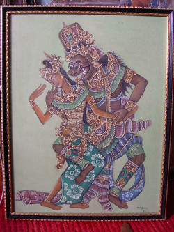 Balinese Painting by M.D. DJATE