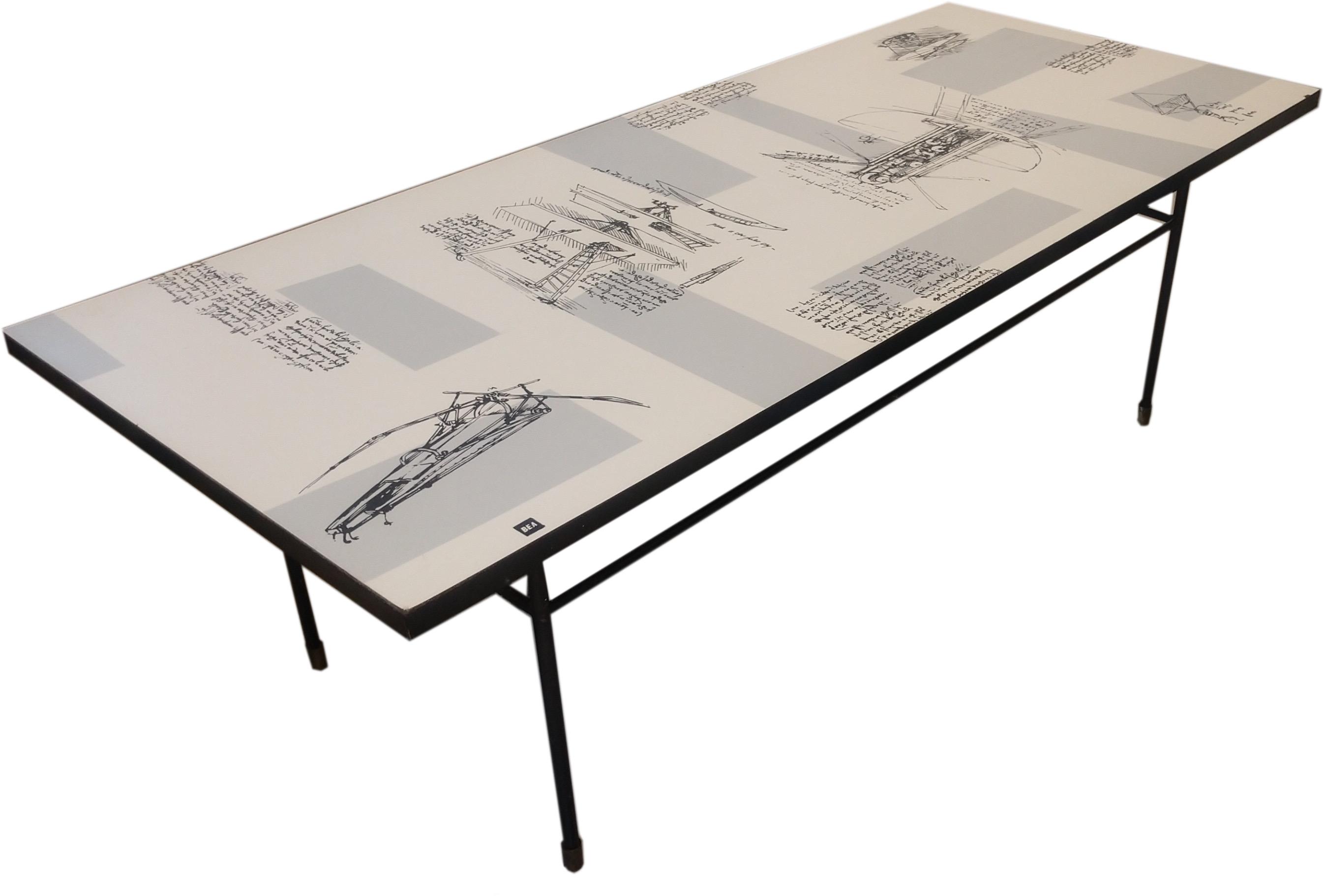 Unique BEA Formica Table