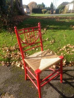 Heals Victorian Chair