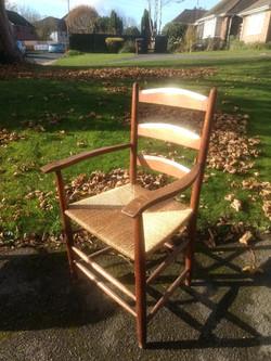 Cotswold School Ladderback Armchair