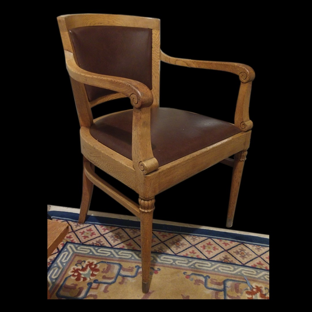 German Art Deco Desk Chair