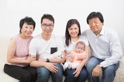 family portrait   home