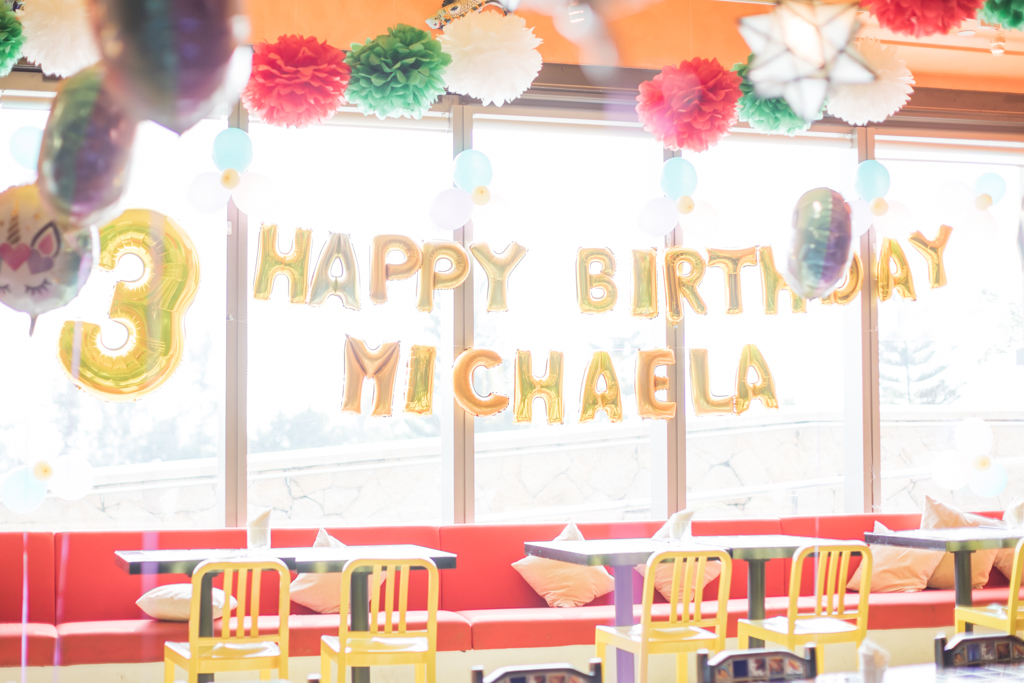 Michaela | 3rd birthday