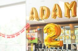 Adam   2nd birthday party