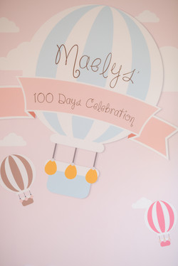 Maelys   100 days party