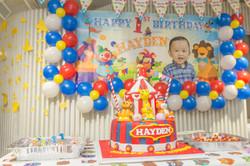 Hayden   1st birthday party
