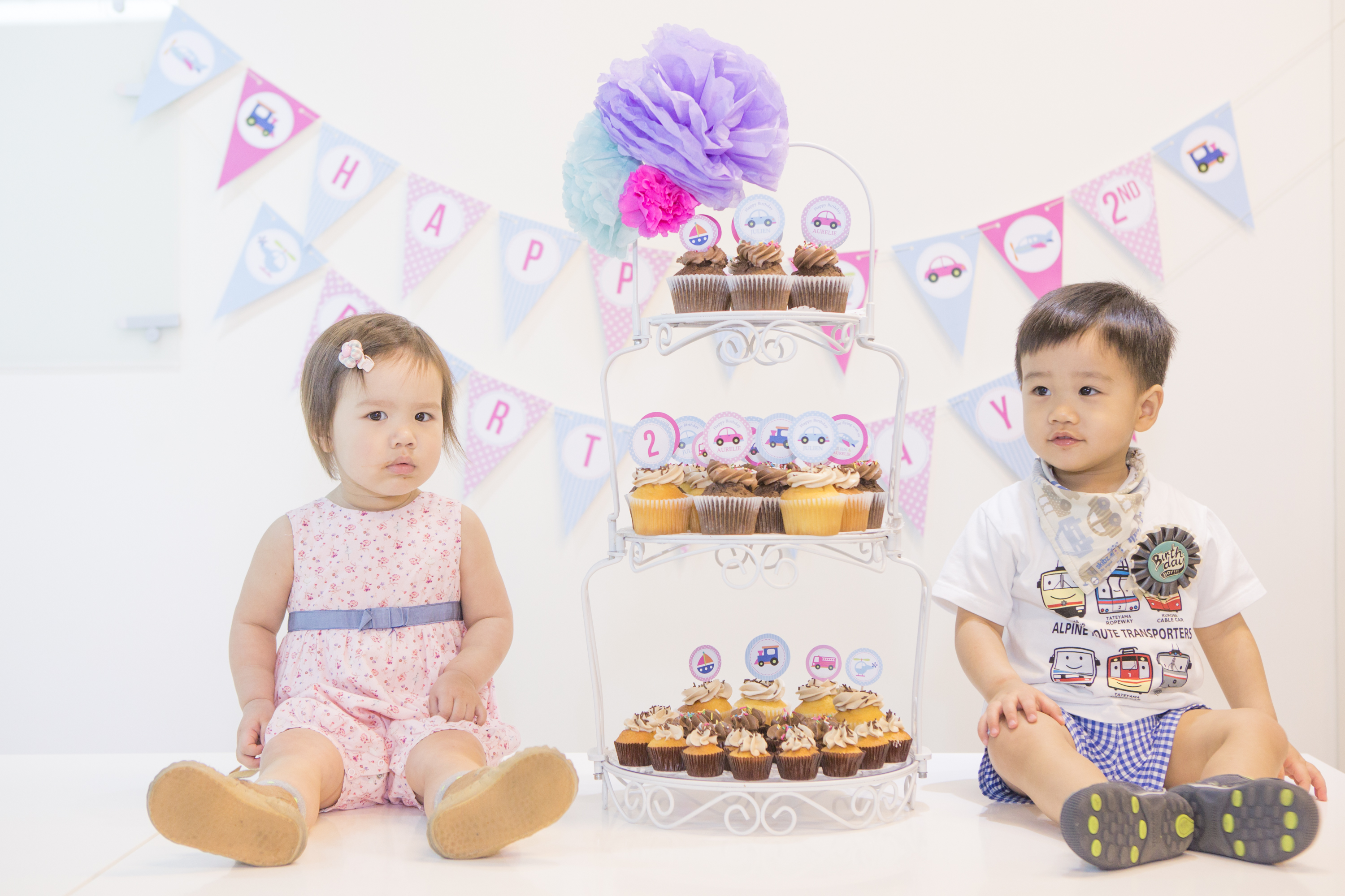 Aurelie & Julien | 2nd bday party