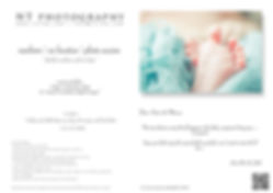 portrait gift card newborn session Hong Kong