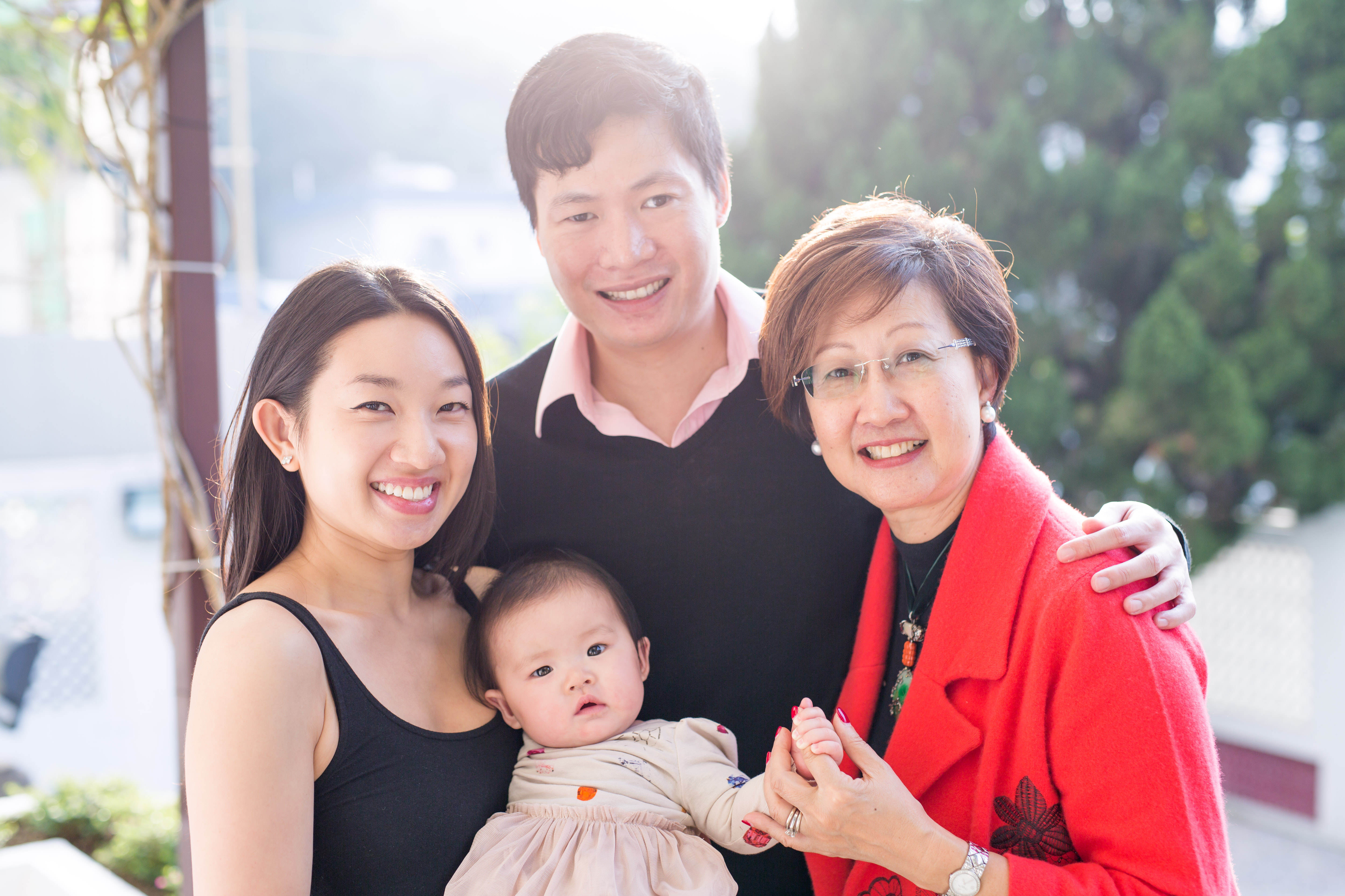 The Wang's family | on location