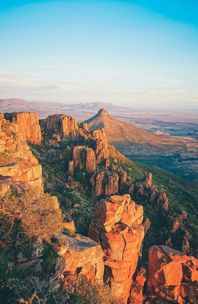 Epic mountain views!