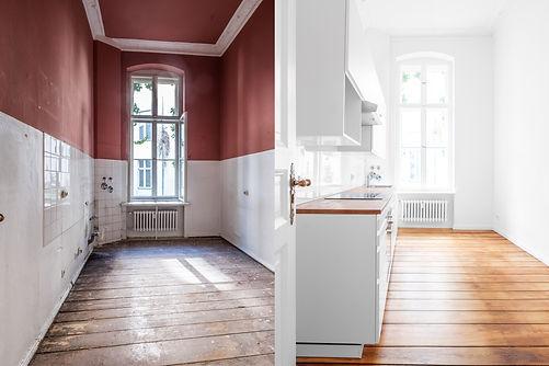 renovation concept -kitchen room befor