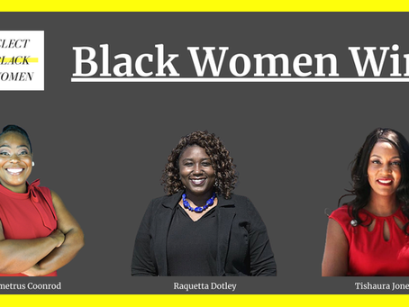 Elect Black Women PAC Endorsed Candidates Win