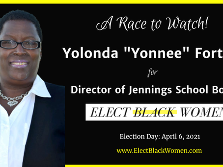 """Yolonda """"Yonnee"""" Fortson's Campaign is a Race To Watch"""