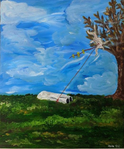 Dead Body: Kite Gliding