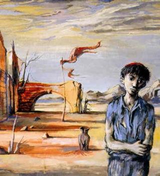 john-minton-figure-in-a-deserted-landsca