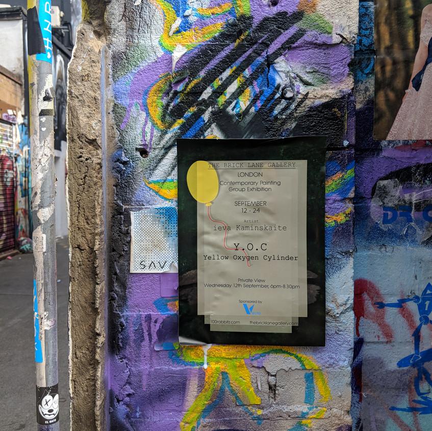 Poster on a Brick Lane wall