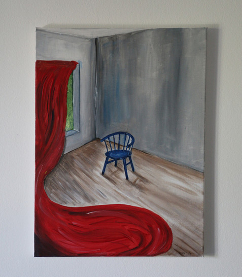 'Blue Chair""