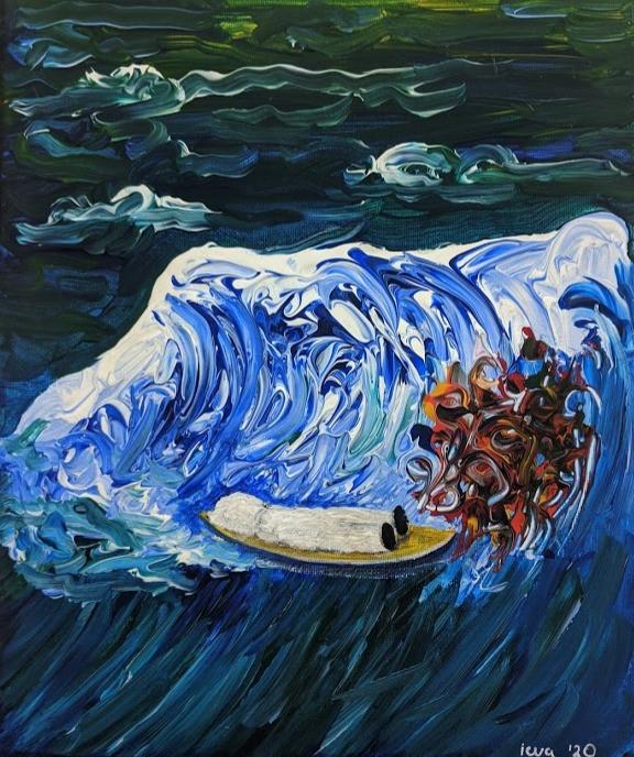 Dead Body: Surfing in the Sea of Rubbish