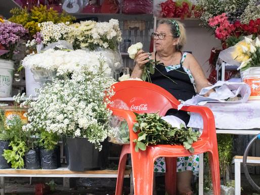 Nem tudo é flores: A vida de quem vende flores na feira de CG