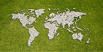 Carte en herbe