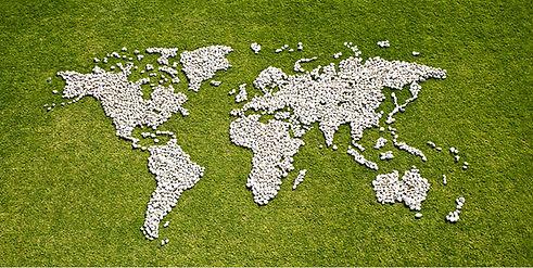 Karte in Grass