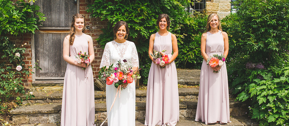HENDALL MANOR BARNS // SUMMER WEDDING