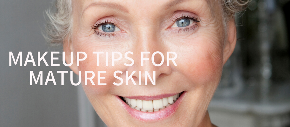 MAKEUP TIPS FOR MATURE SKIN