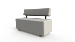 Ref: Sofa running con espaldar