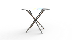 Ref: Mesa de vidrio