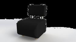 Ref: Poltrona negra