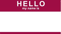hello my name is brian scott sticker