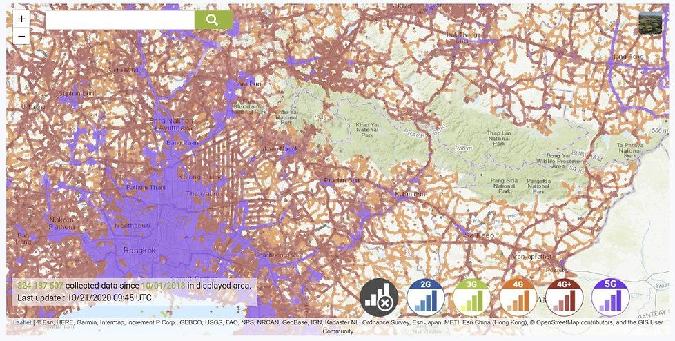 cell coverage truemove khao yai.JPG