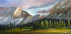 Glaciers du lac Bow