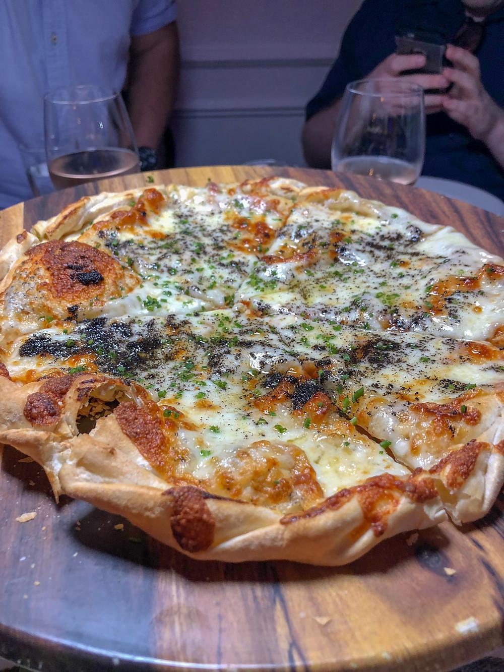 Pizza à la Truffe Noire
