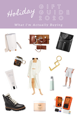 HOLIDAY GIFT GUIDE 2020: What I'm Actually Buying