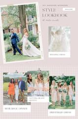 My Wedding Weekend Style Lookbook