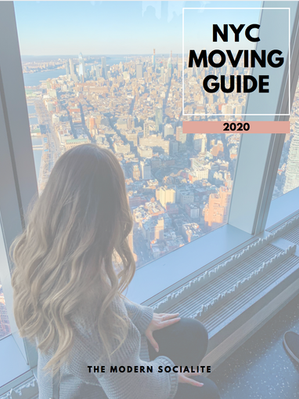 Introducing my 2020 NYC Moving Guide!