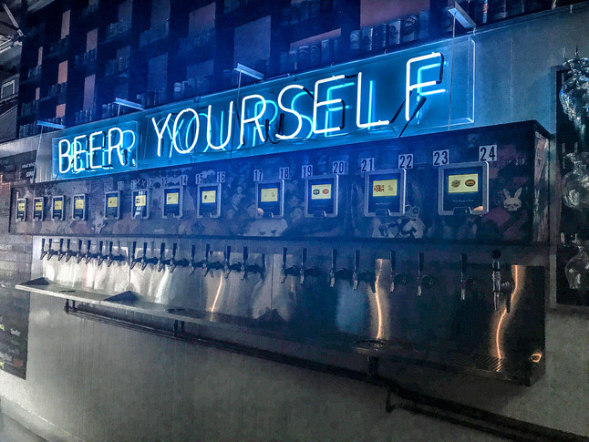 Beer Wall: The Best Kind of Wall